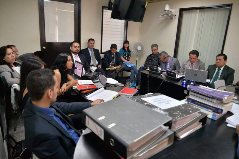 La audiencia se desarrolló en el Juzgado Quinto de Instancia Penal. (Foto: Wilder López/Soy502)