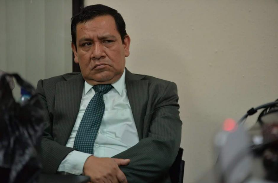 El juez es señalado de emitir una resolución a favor del exsuperintendente Carlos Muñoz. (Foto: Wilder López/Soy502)