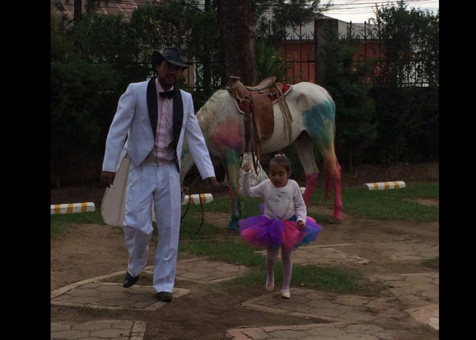 La niña disfrutó el paseo en todo momento. (Foto: Restaurante Tertulianos)