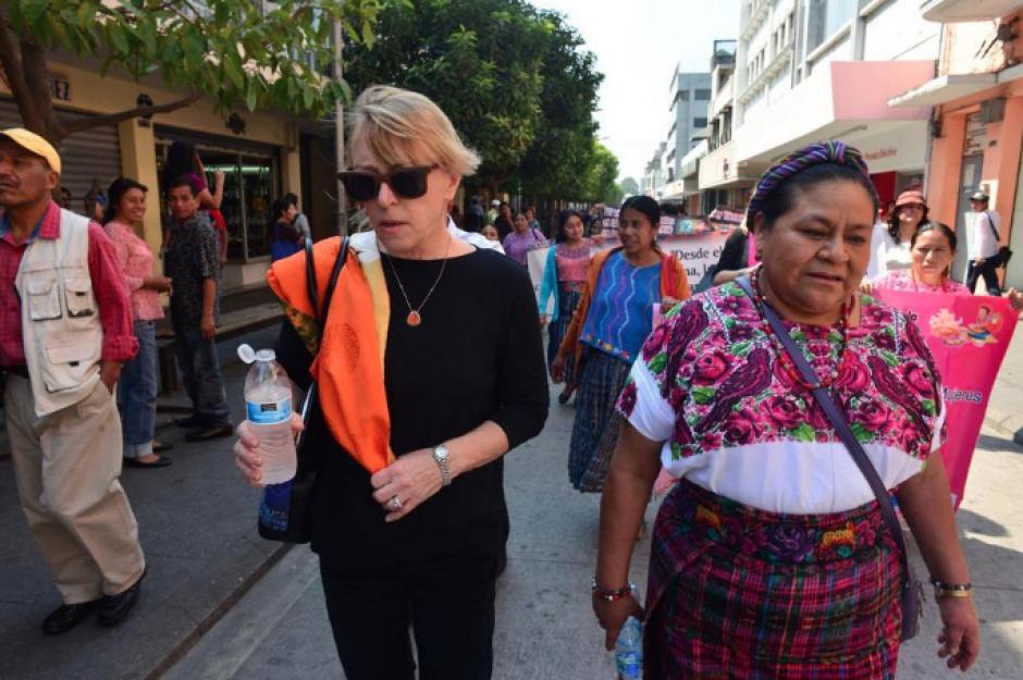La Premio Nobel de la Paz de Guatemala solicitó una disculpa pública. (Foto: Archivo/Soy502)