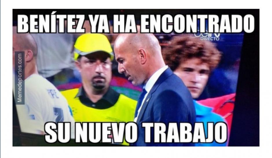 """El exentrenador del Madrid fue recordado en los """"memes"""". (Foto: MemeDeportes)"""