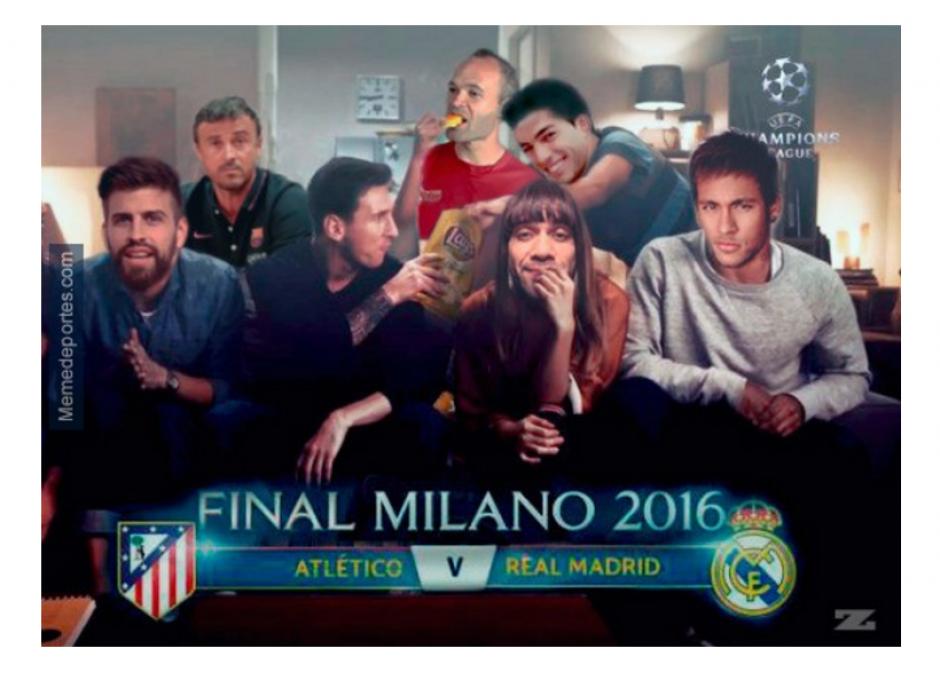 Los memes sobre el Barcelona tampoco se hicieron esperar. (Foto: MemeDeportes)