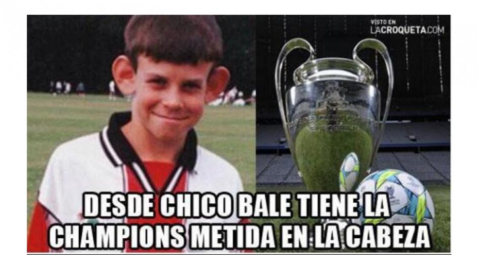 """Bale de pequeño también fue viralizado en los """"memes"""". (Foto: MemeDeportes)"""
