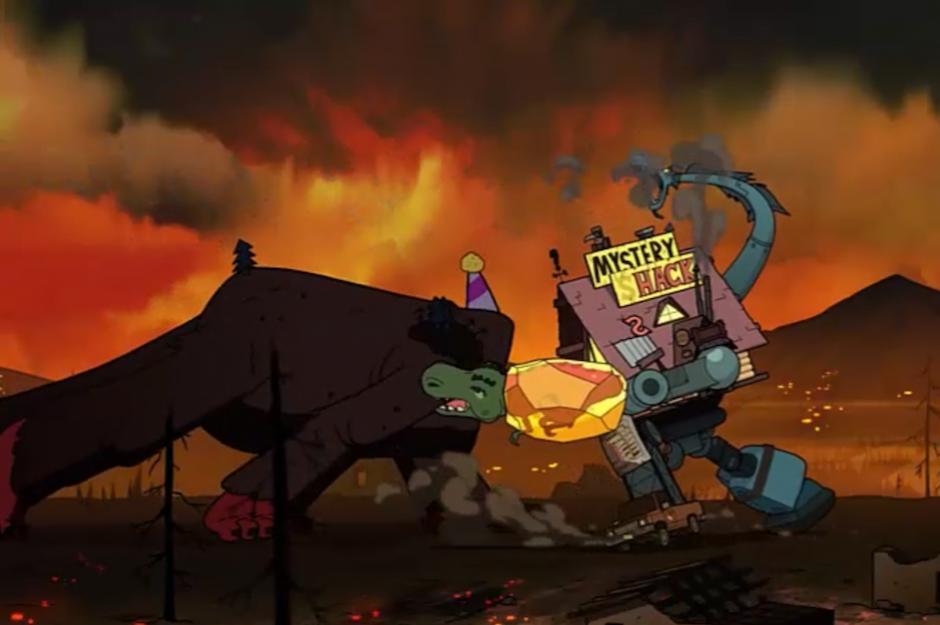 Un final en donde se selló el destino de Gravity Falls y del universo entero. (Foto: Captura de Pantalla/Gravity Falls)