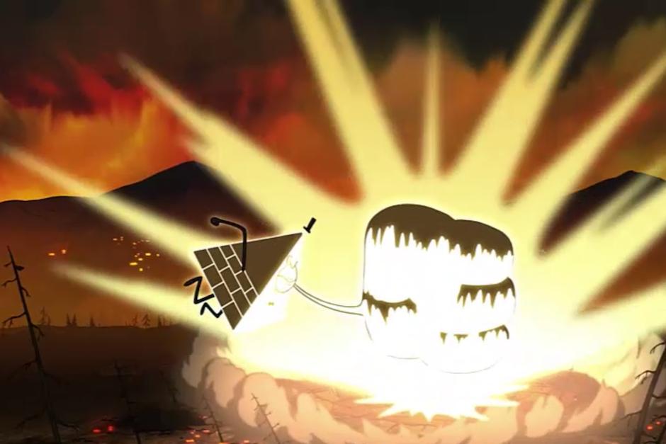"""El episodio 20 de la segunda temporada titulado """"Raromagedón Parte 3: Recuperando Gravity Falls"""" pone fin a una serie de interrogantes. (Foto: Captura de Pantalla/Gravity Falls)"""