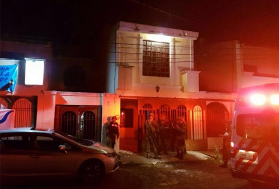 Esta es la casa donde mantuvieron a Pulido 24 horas. (Foto: excelsior.com.mx)