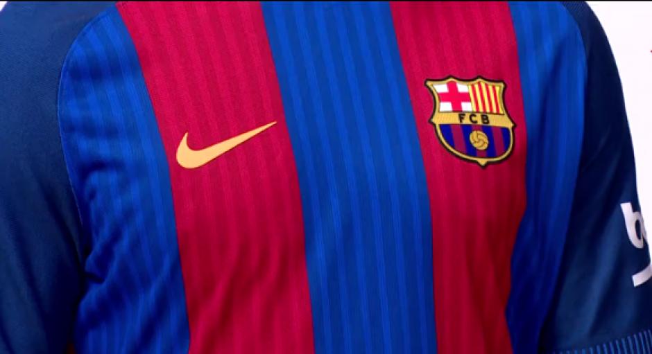 Estos son los detalles de la nueva camiseta del Barcelona. (Foto: Captura video)