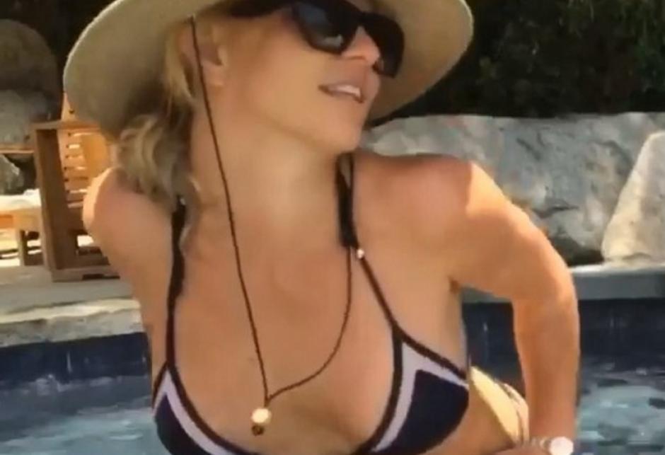 Britney Spears publicó un sensual video para sus seguidores de Instagram. (Foto: Instagram)