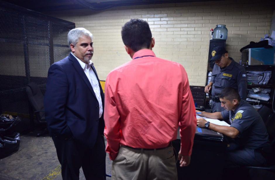 El exmagistrado deberá guardar prisión preventiva en Mariscal Zavala. (Foto: Jesús Alfonso/Soy502)