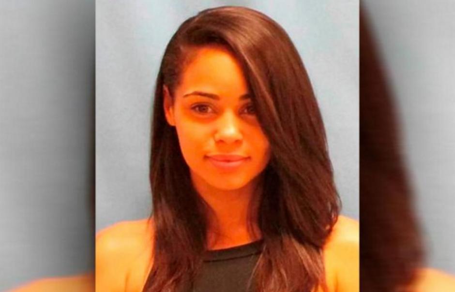 La policía que la capturó publicó esta fotografía que se viralizó. (Foto: New York Daily News)
