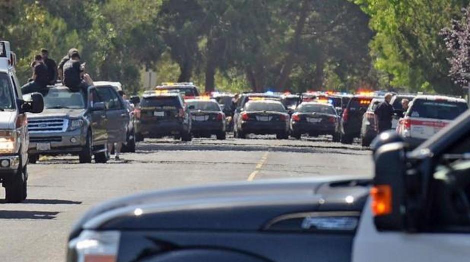 Las autoridades cerraron las cercanías de la universidad. (Foto:  El Comercio/Perú)