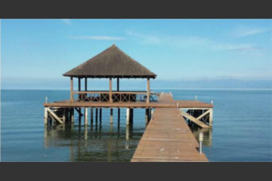 Según la CICIG, el binomio presidencial adquirió una casa de descanso en Roatán, Honduras valorada en 100 mil dólares. (Foto: Cortesía CICIG)