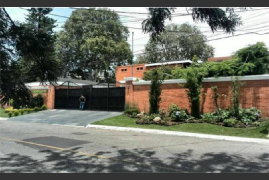 Otto Pérez adquirió una vivienda en la zona 15. (Foto: Cortesía CICIG)