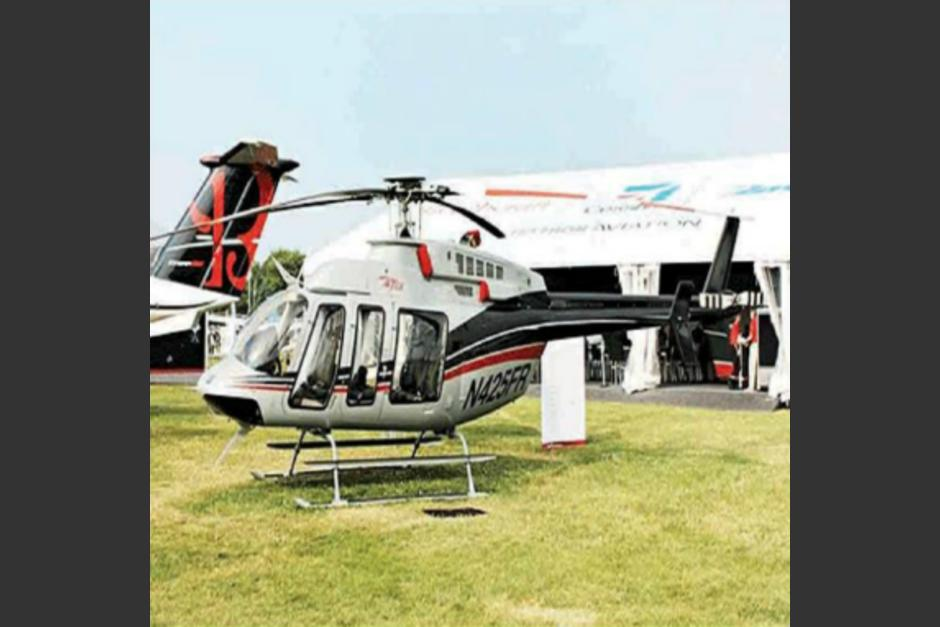 Por el helicóptero de Otto Pérez Molina, las empresas de cartón pagaron 3 millones 292 mil 723.98 dólares (25 millones 132 mil 802 quetzales). (Foto: cortesía CICIG)