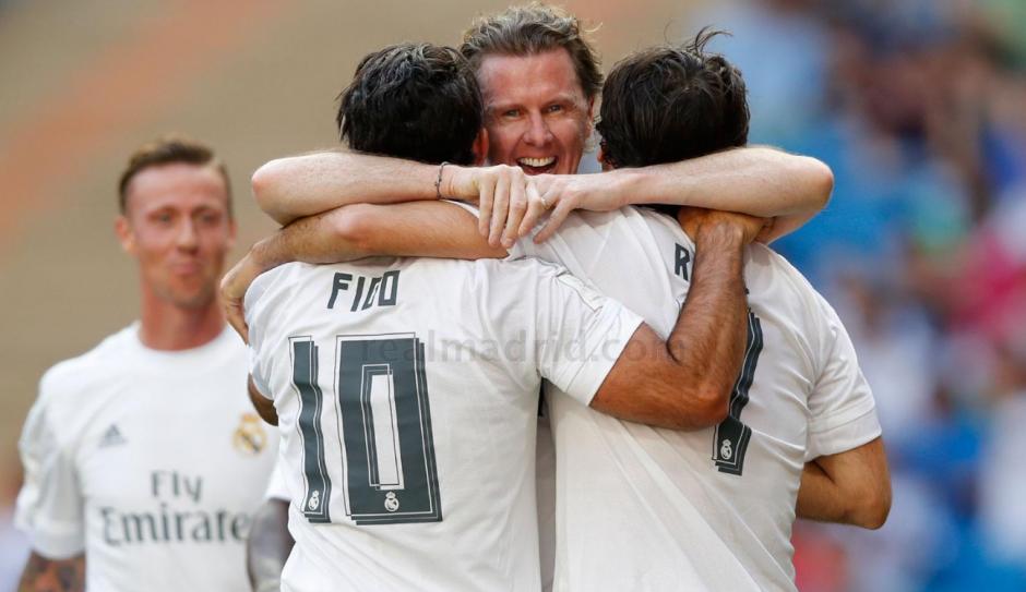 McManaman anotó el segundo gol de Real Madrid en el juego benéfico. (Foto: Real Madrid)