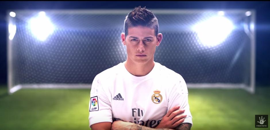 El nuevo tráiler muestra rostros conocidos como el James Rodríguez. (Foto: Captura YouTube)