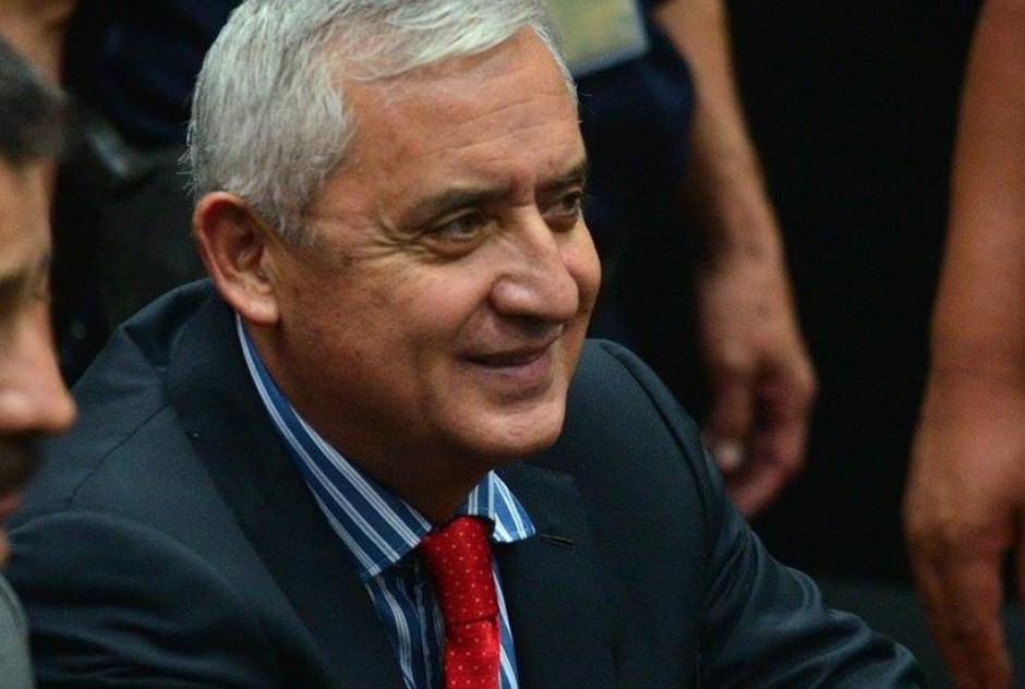 En audiencias anteriores, a Otto Pérez Molina se le ha visto, incluso, sonriendo. (Foto: Archivo/Soy502)