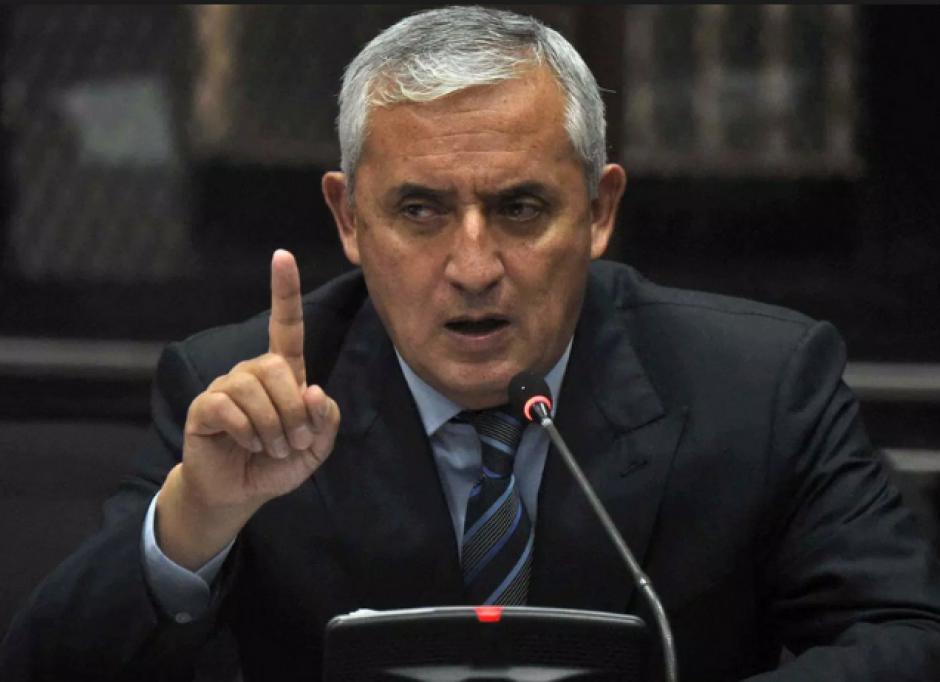 Otto Pérez Molina siempre ha dado sus puntos de vista en Tribunales, excepto en este nuevo caso. (Foto: Archivo/soy502)