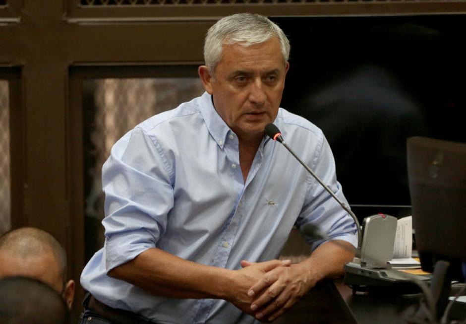 Otto Pérez Molina se ha mostrado seguro en las audiencia pero en esta fue diferente. (Foto: Archivo/Soy502)