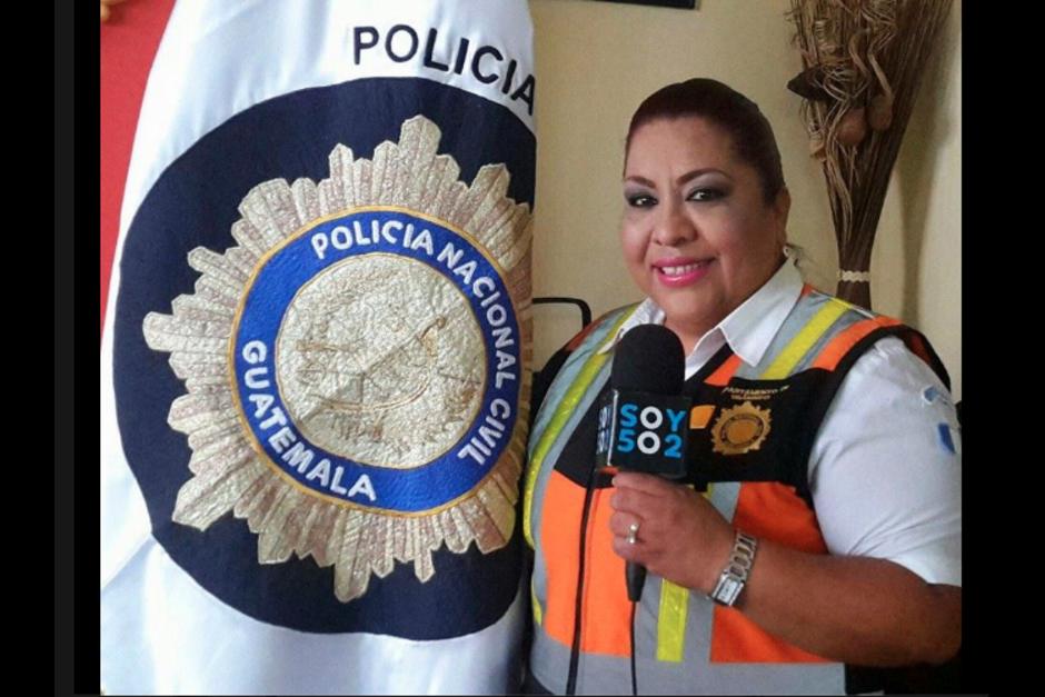 Dalia Santos es la vocera del departamento de Tránsito de la PNC. (Foto: Archivo/Soy502)