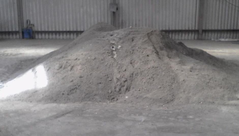 Concentrado mineral de plata fue localizado. (Foto: PNC)