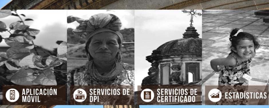"Ingresa a la pestaña ""servicios de DPI"".(Foto: Captura de Pantalla)"