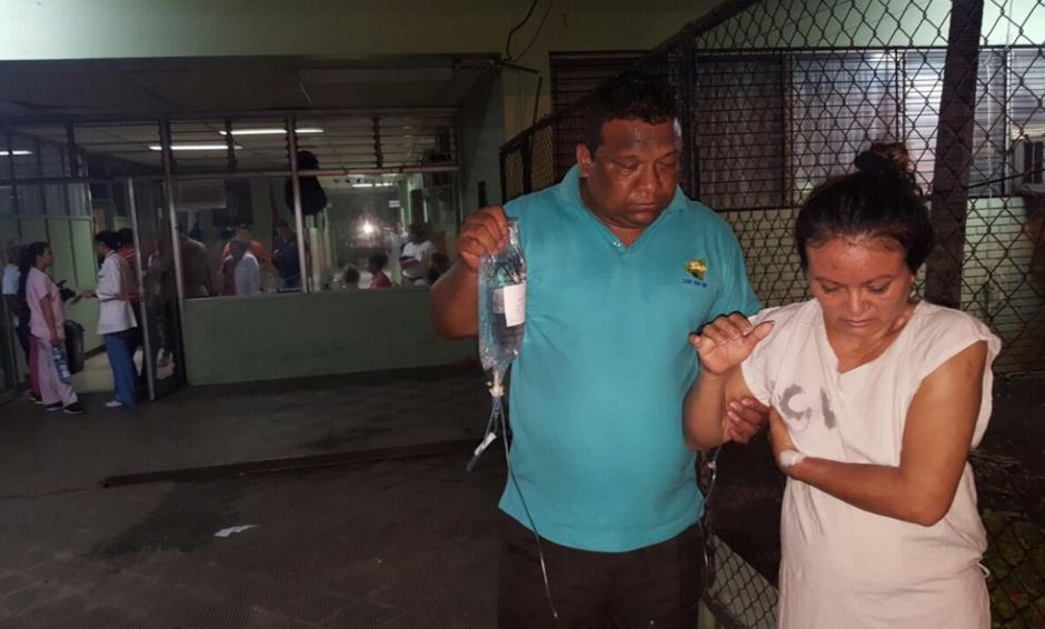 Los hospitales fueron evacuados por seguridad. (Foto: Canal 2 de Nicaragua)