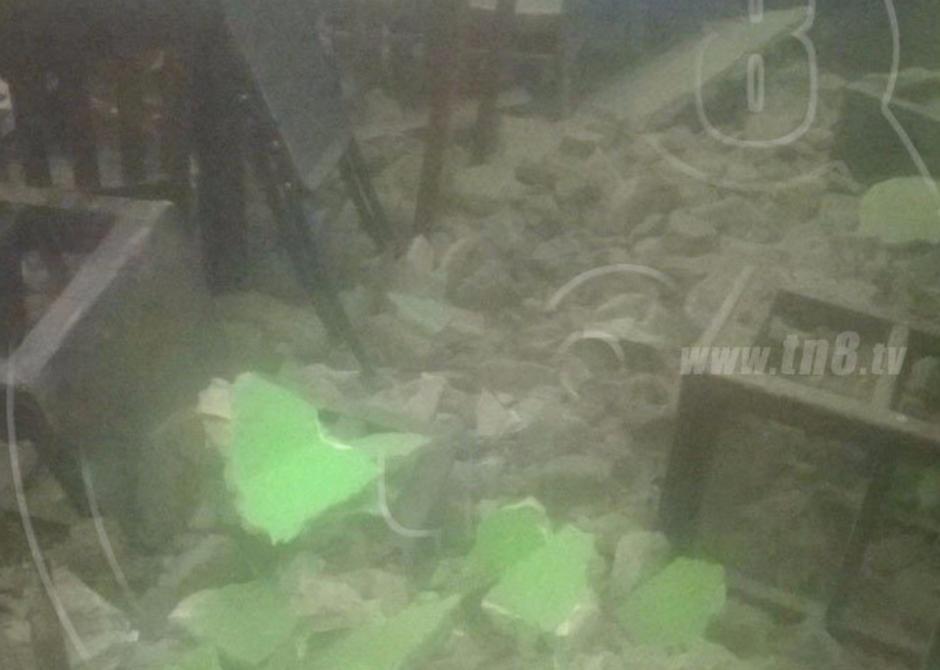 Algunas casas sufrieron serios daños. (Foto: Canal 2 de Nicaragua)