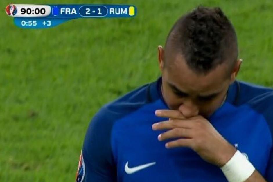 Dimitri Payet iluminó a Francia en el partido inaugural de la Eurocopa. (Foto: Diario Récord)