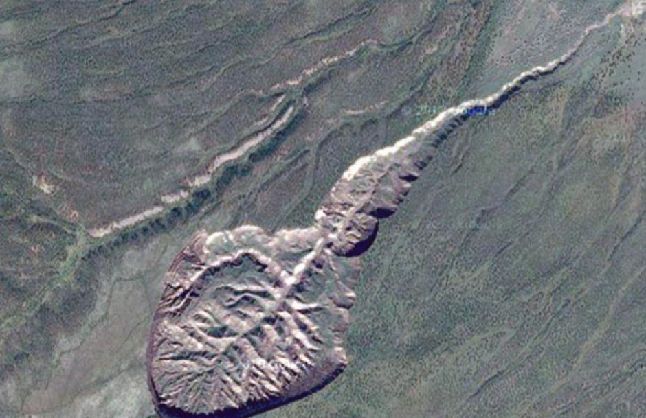 El cráter podría ayudar a revelar misterios sobre el planeta Tierra. (Foto: google maps)