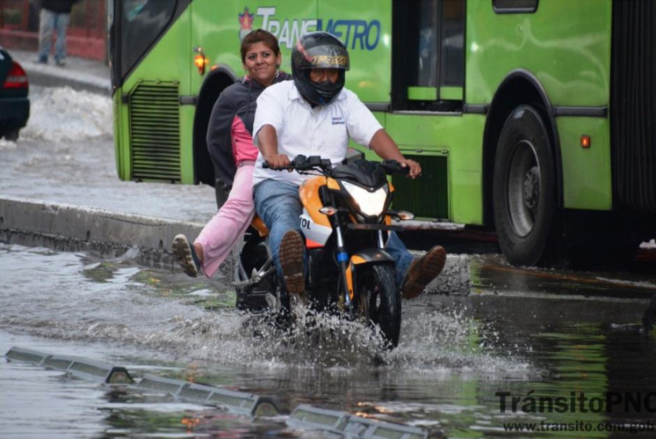 El tráfico no solo en San Cristóbal se vio afectado. (Foto: PNC/Tránsito)