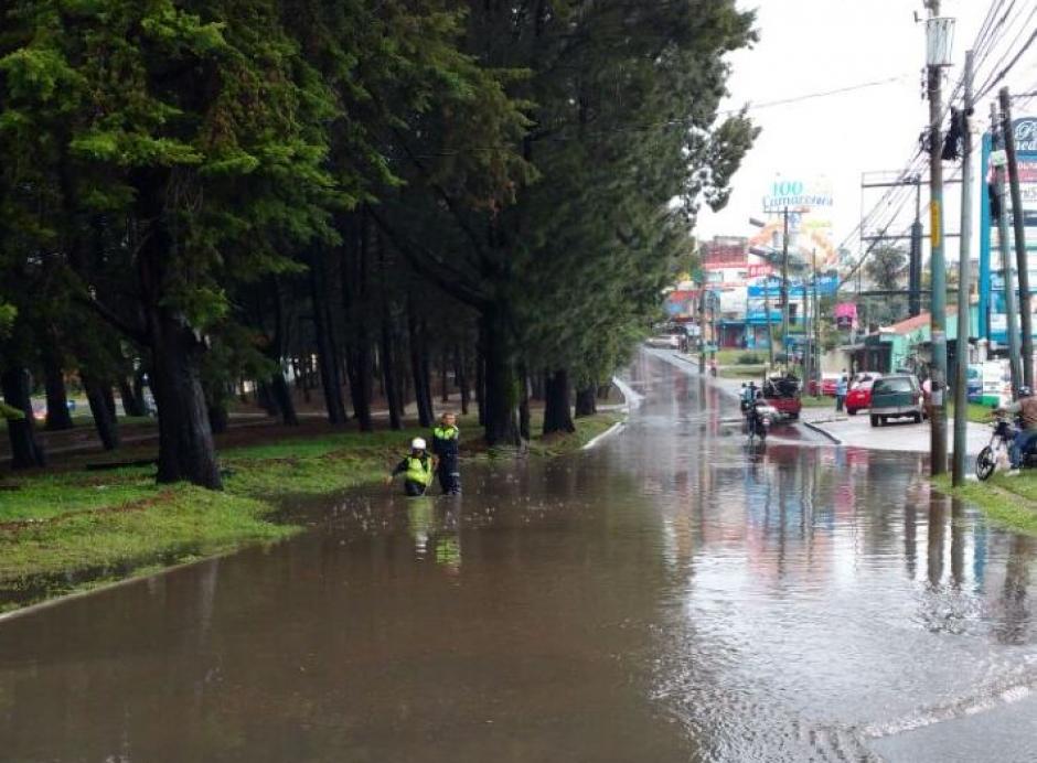 El en bulevar San Cristóbal así quedaron las calles. (Foto: Pablo Morales/Emixtra)