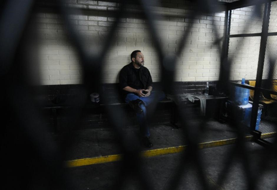 El exministro de gobernación es acusado en el caso La Cooperacha. (Foto: Alejandro Balán/Soy502)