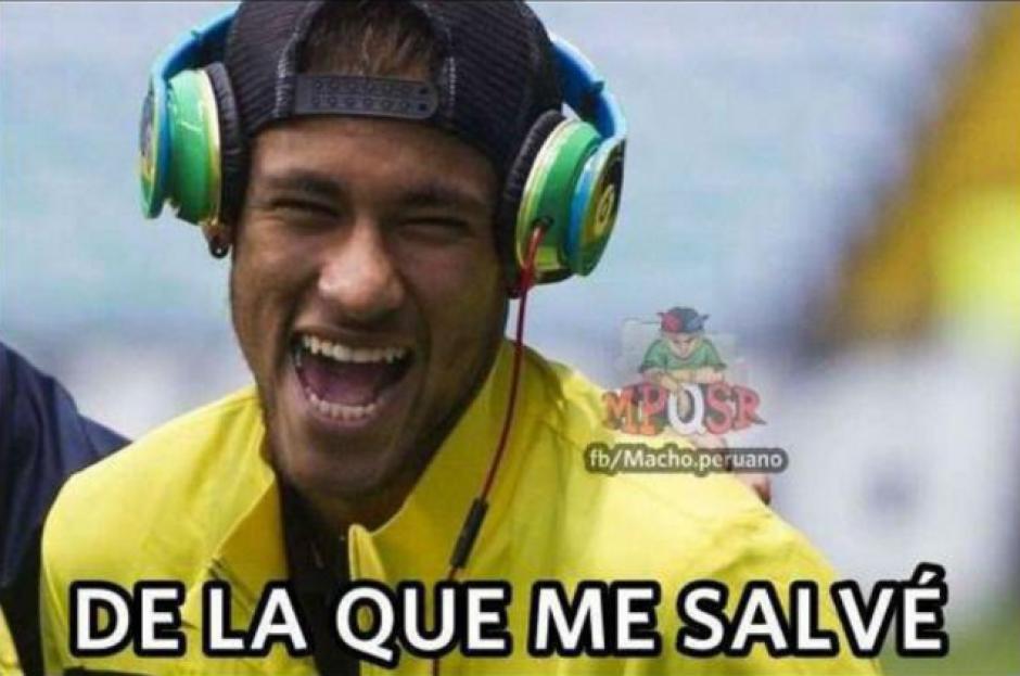 La ausencia de Neymar también fue recordada por los internautas. (Foto: Twitter)