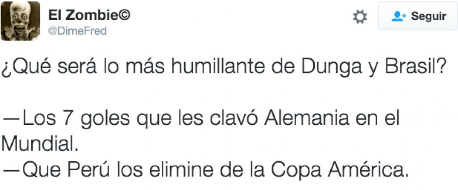 La derrota fue comparada con la goleada de Alemania sobre Brasil en el Mundial. (@dimefred/Twitter)