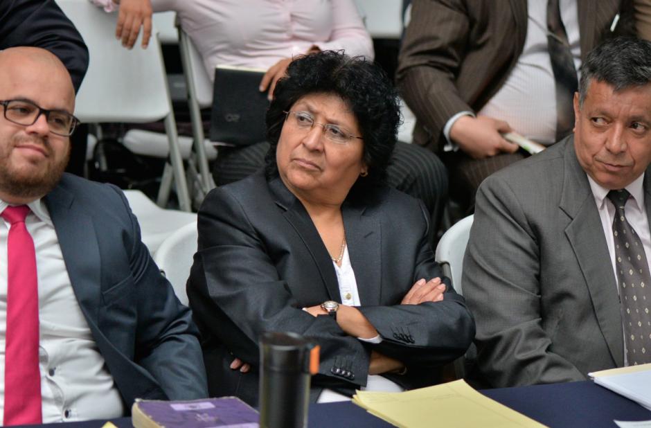 """Rosario Acevedo Peñate, conocida como la """"fiscal de hierro"""", es abogada del exministro Manuel López Ambrosio. (Foto: Wilder López/Soy502)"""