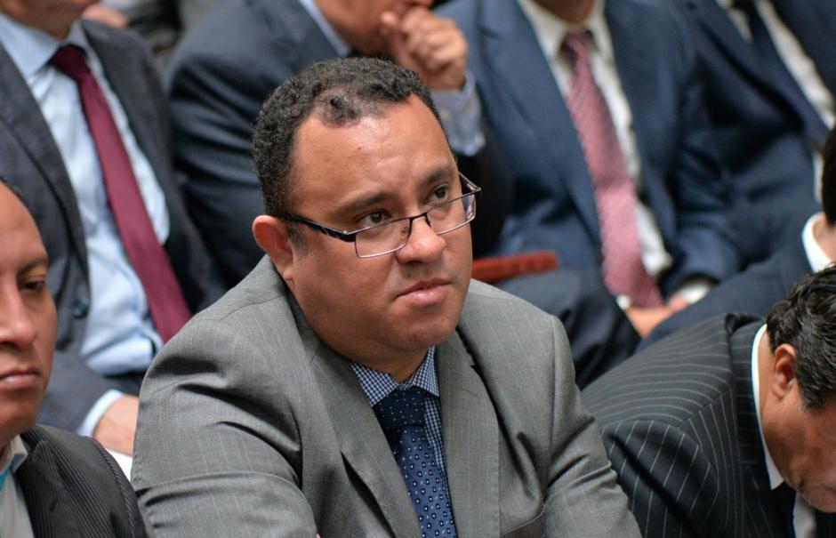 Marco Alveño, quien defiende a Marisol Berganza, también fue abogado de Édgar Barquín. (Foto: Wilder López/Soy502)