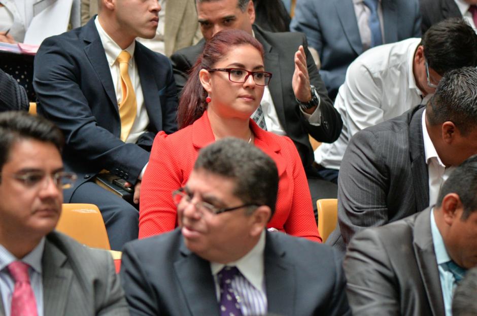 Jenniffer Candelaria Dell'Acqua es una de las abogadas defensoras de Julio Aldana, quien le facilitaba préstamos bancarios a Baldetti. (Foto: Wilder López/Soy502)