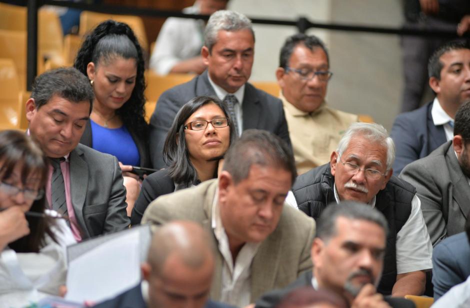 La defensa del exministro de Agricultura, Edín Barrientos, está encabezada por su hija. (Foto: Wilder López/Soy502)