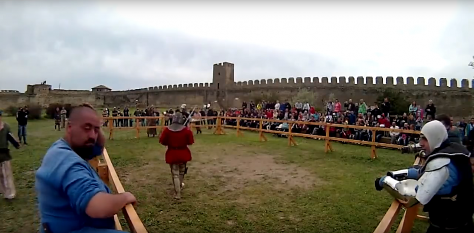 El Battle of the Nations (Medieval Tournament) se celebra desde el 2009  (Foto: Captura de Pantalla/Youtube)