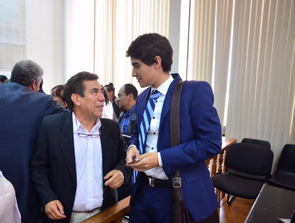 El joven se inspiró en la trayectoria de su padre al momento de elegir su carrera universitaria. (Foto: Jesús Alfonso/Soy502)