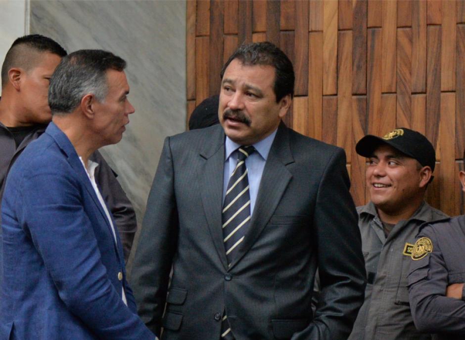 César Calderón tiene a su cargo la defensa del expresidente Otto Pérez y del extitular del IGSS, Juan de Dios Rodríguez. (Foto: Wilder López/Soy502)