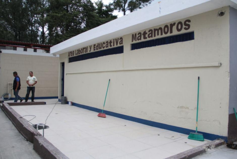 En el centro carcelario se cuenta con un área de reinserción para los reclusos. (Foto: Mingob)