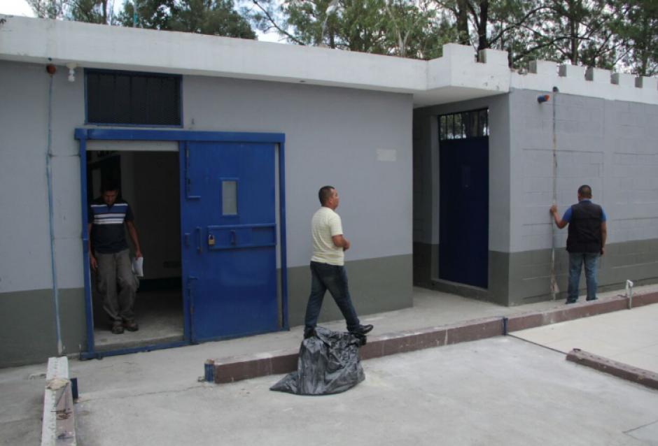 Además de vigilancia militar, el área perimetral será custodiada por guardias del Sistema Penitenciario. (Foto: Mingob)