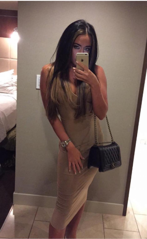 Danielle Perry comparte sus fotos con sus segudores en Instagram. (Foto: Daniielleperry)