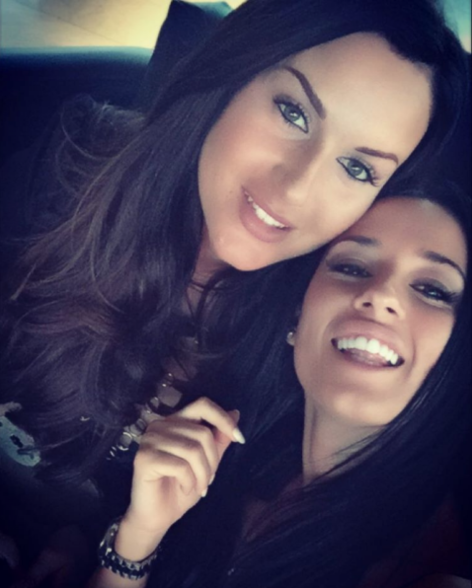 Danielle Perry y su amiga se robaron la ateción de Neymar en Las Vegas. (Foto: Daniielleperry)