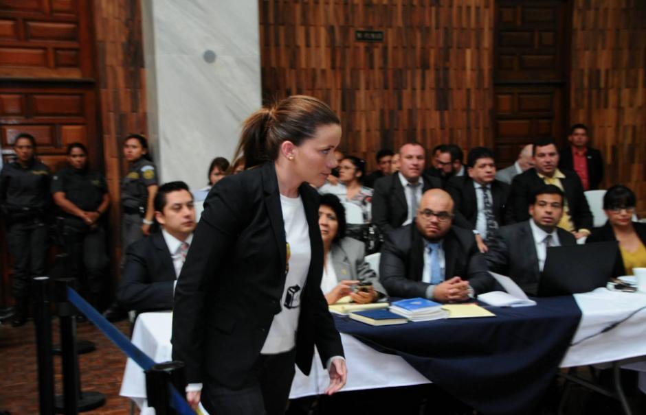 A su llegada a Torre de Tribunales se presentó ante el juez. (Foto: Alejandro Balan/Soy502)