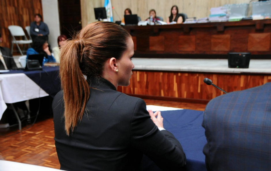 Daniela Beltranena fue exasistente de Roxana Baldetti. (Foto: Alejandro Balan/Soy502)