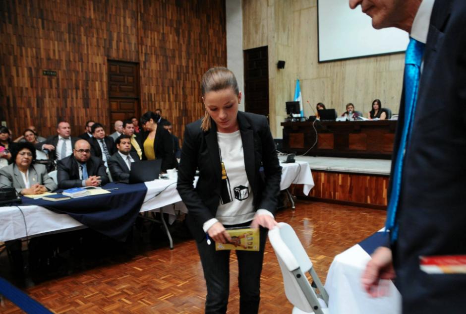 Beltranena es una de las implicada en el caso Cooptación del Estado. (Foto: Alejandro Balan/Soy502)