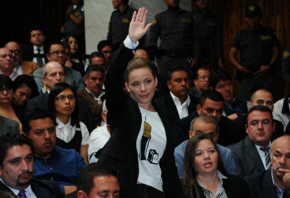 El Ministerio Público imputó los delitos a Daniela Beltranena. (Foto: Alejandro Balan/Soy502)
